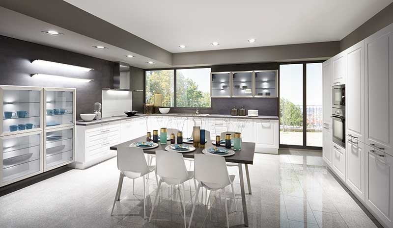 Cottage Style German Kitchens - affordable German Kitchens