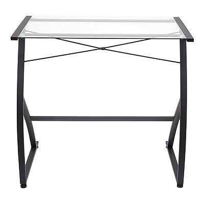 Staples Glass Computer Desk | Staples