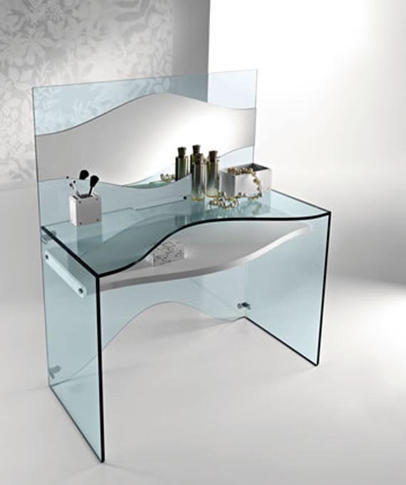 Glass furniture design. | Best Design Home