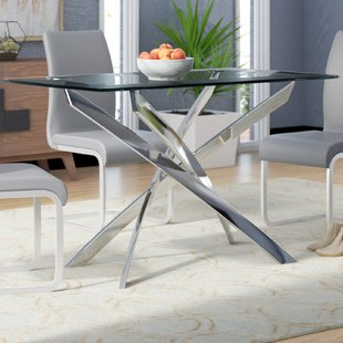 Glass Dining Table Base Only | Wayfair