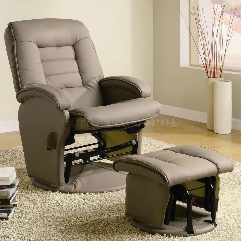 Swivel Glider Recliner | Gray Glider Recliner | Ashewick Swivel Glider  Recliner