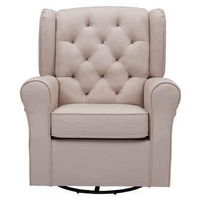 Delta Children® Emma Nursery Glider Swivel Rocker Chair : Target