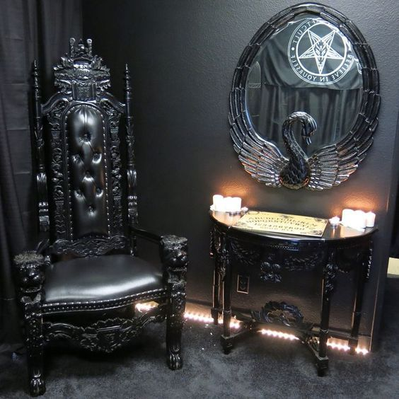 Gothic furniture Check us out on fb- UNIQUE INTUITIONS #gothic
