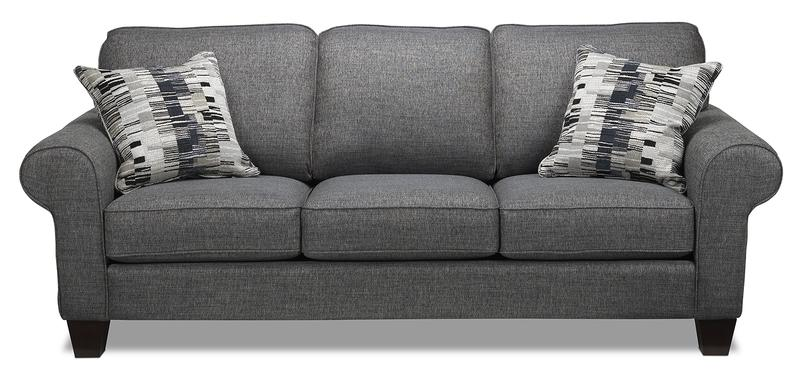 Drake 3 Pc. Living Room Package - Grey | Leon's