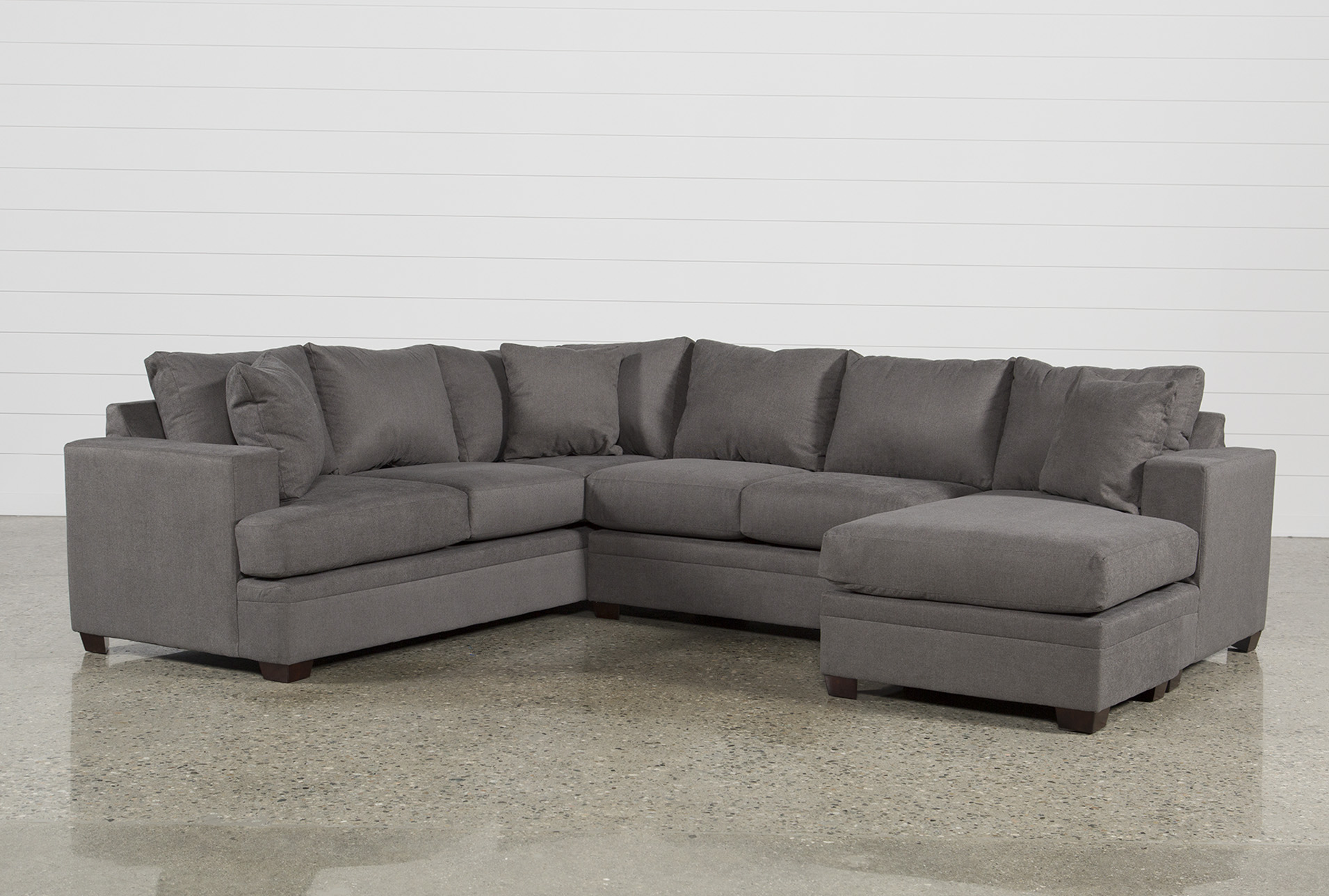 Kerri 2 Piece Sectional W/Raf Chaise | Living Spaces