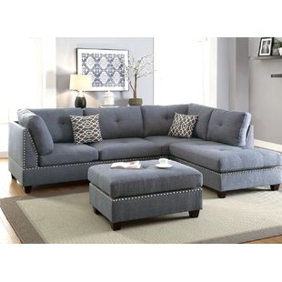 Charlemont Reversible Sectional with Ottoman