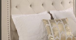 Chenery Upholstered Wingback Headboard