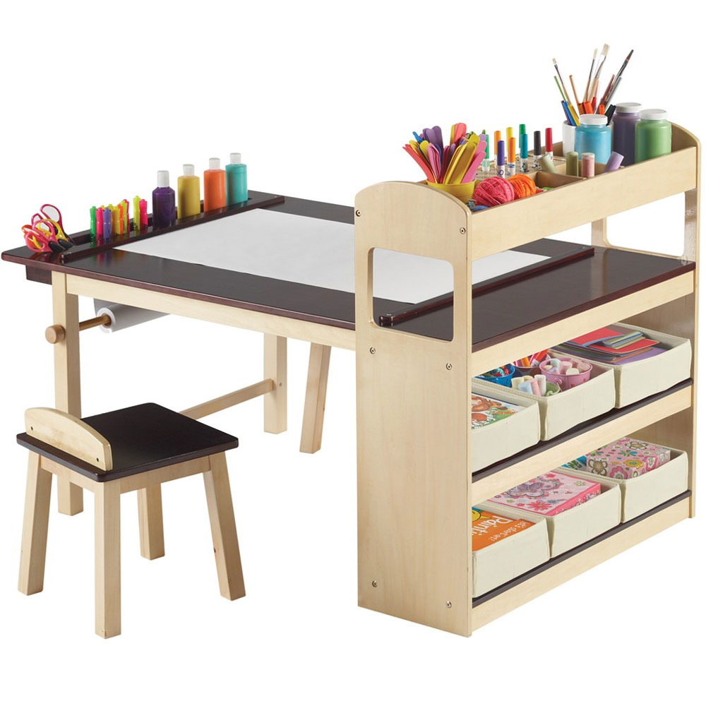 Kids Activity Table with Storage Image
