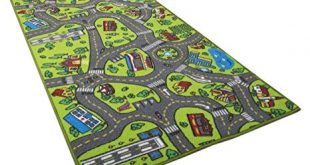 Kids Carpet Playmat Rug City Life Great for Playing with Cars and Toys -  Play,