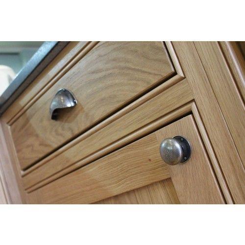 Change door handles on cupboards - finesse pewter cup handle | Doors