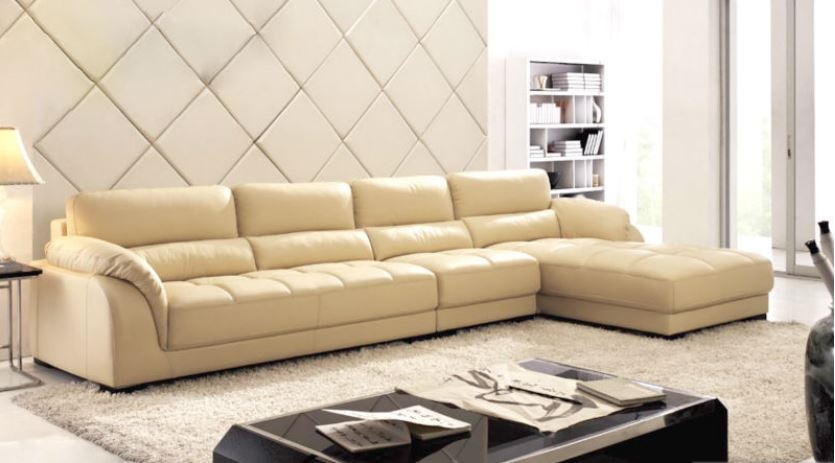 Seriena 3 piece sectional sofa, beige sectional sofa, leather sectionals,  chaise lounge,