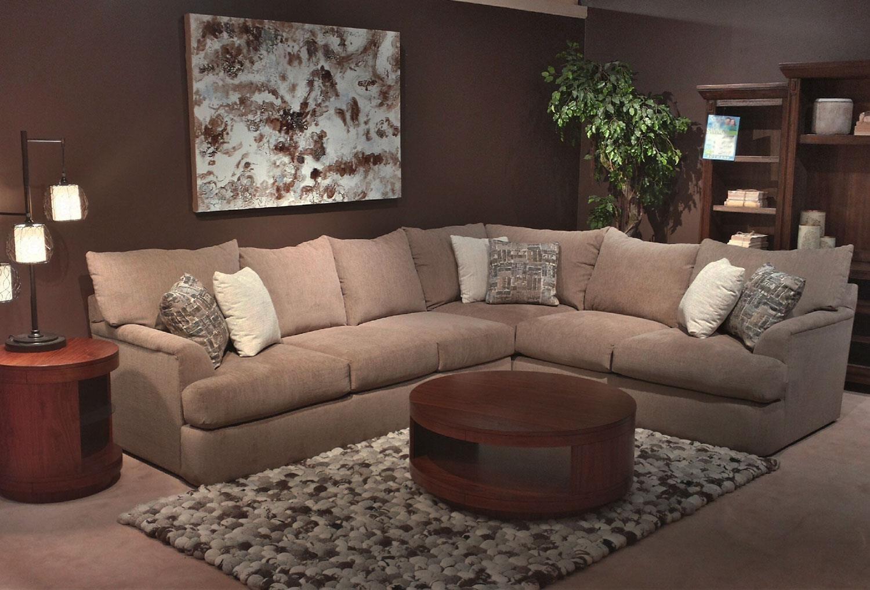 Shambala Contemporary L-Shaped Sectional Sofa