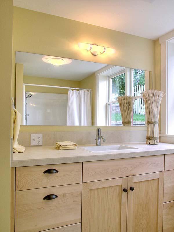 Large Frameless Bathroom Mirrors Large Frameless Wall Mirrors Cheap