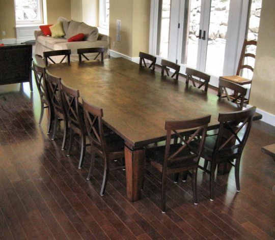Best 12 Seater Square Dining Table 12 Seat Dining Room Table We Wanted To  Keep The Additions As