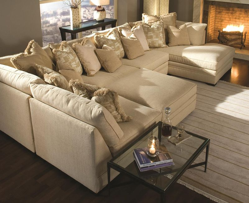Extra Large Sectional Sofas with Chaise More