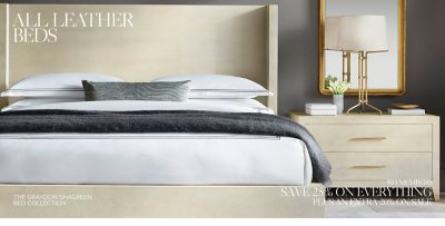 Shop Leather Bed Collections