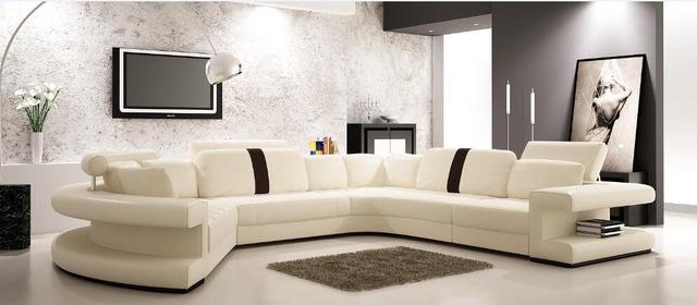 Modern corner sofas and leather corner sofas for Sofa set living room  furniture with large corner