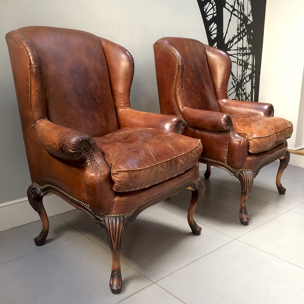 brown leather club chairs|club chairs|leather club chairs| leather  armchairs|vintage