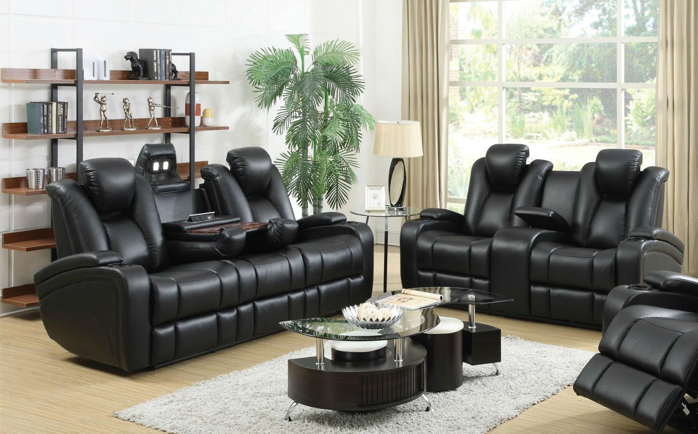 Leather Reclining Sofa And Loveseat Sets