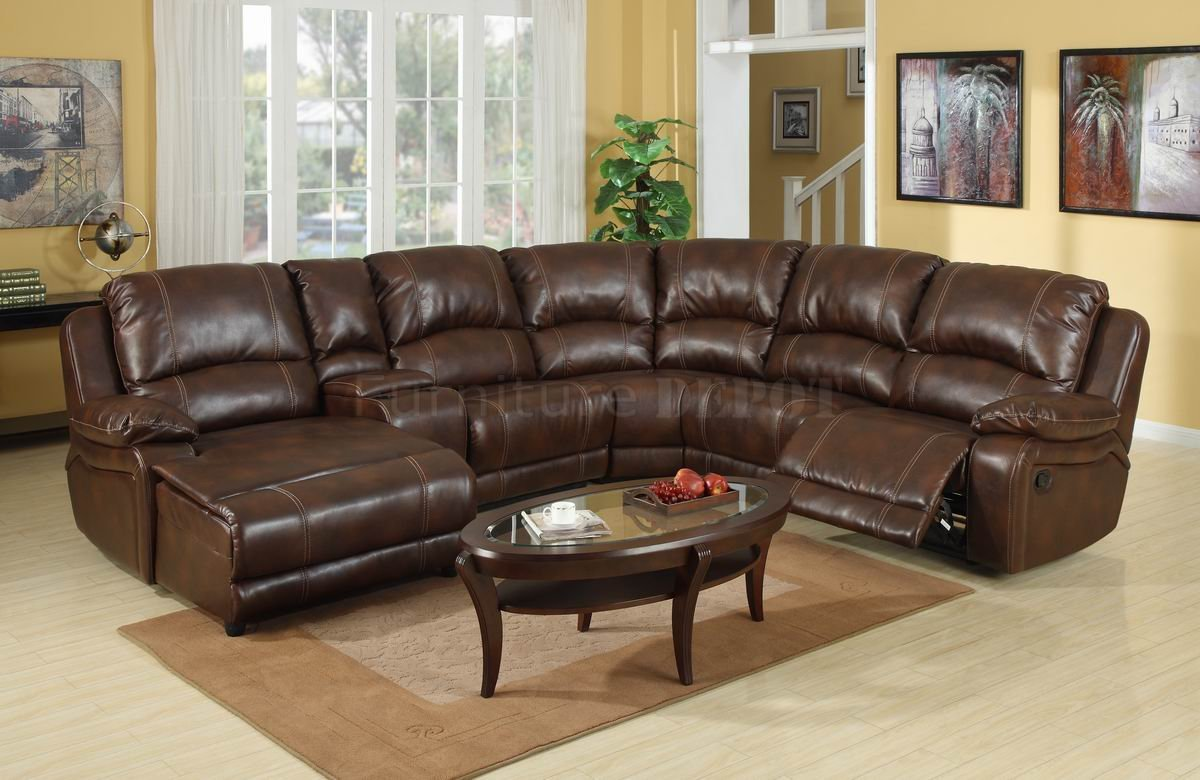 Leather Reclining Sofa | Leather Recliner Sectional Sofa | Sectional  Leather Reclining Sofa