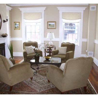 decorating living room with chairs only | Living Room Chair Rail Design  Ideas, Pictures, Remodel, and Decor