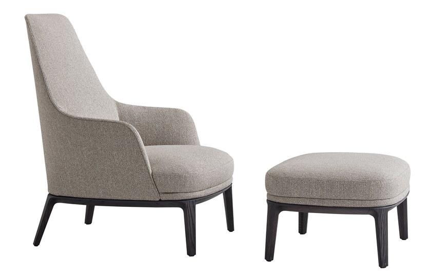 JANE LOUNGE | Armchair Jane Collection By poliform design Emmanuel Gallina