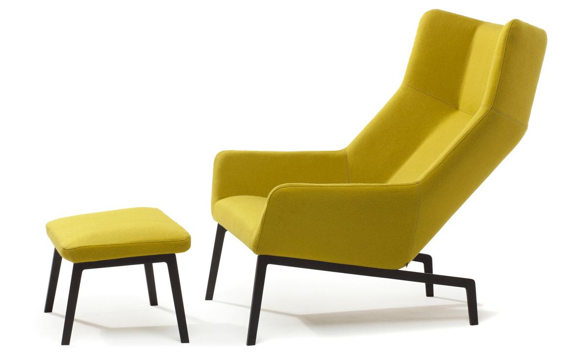 Park Lounge Chair & Ottoman