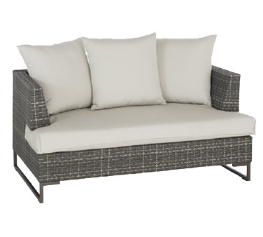 EMU 6542 - Luxor Lounge Loveseat, outdoor, dark multicolor (WM#43)