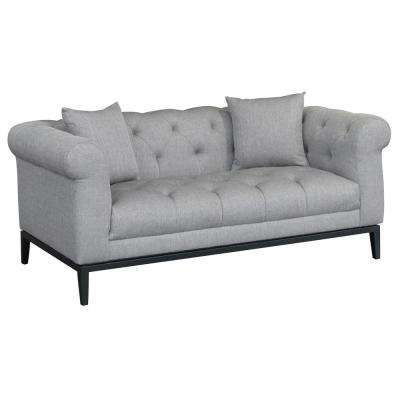 Theron Grey Loveseat