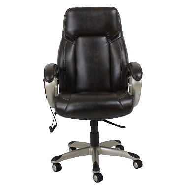 Barcalounger Shiatsu Massage Office Chair, Brown