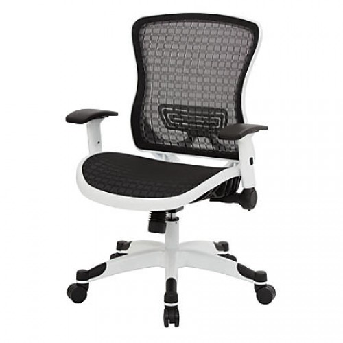 ErgoStar Mesh-Back Office Chair with Adjustable Arms and  from Beverly  Hills Chairs