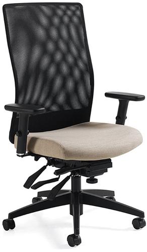 Global Weev 2220-3 Mesh Back Office Chair