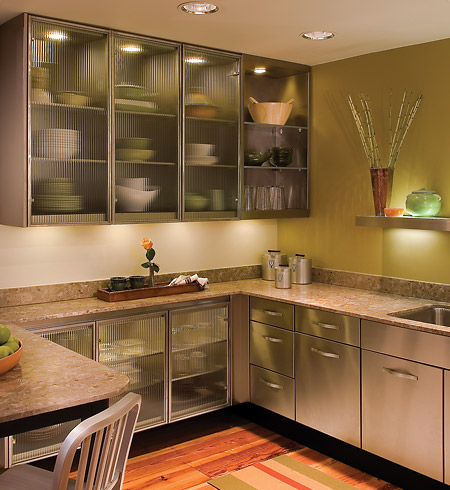 Fast forward 45 years to today, and steel kitchen cabinets are making a  comeback.