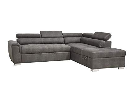 Amazon.com: ACME Furniture 50275 Thelma Sleeper and Ottoman