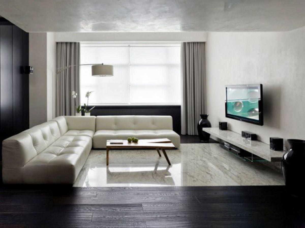 Minimalist living room Decolieu Studio Design