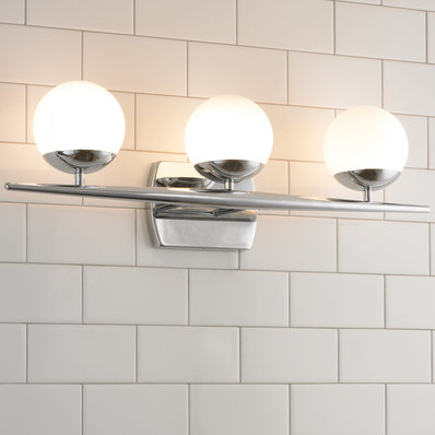 Linear Globe Bath Light - 3 Light