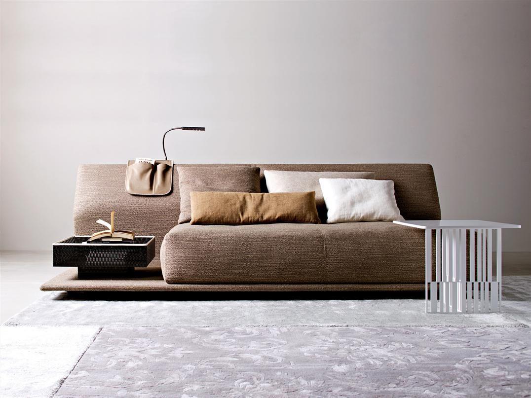 Contemporary Comfortable Sofa Bed by Molteni
