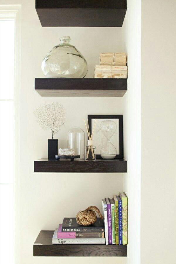 modern corner shelves