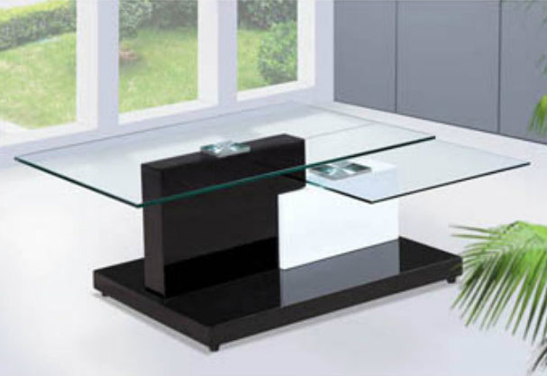 Modern glass coffee table BQ350 | Contemporary