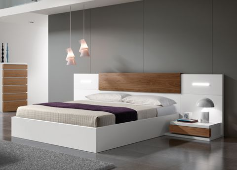 Contemporary King Size Bed