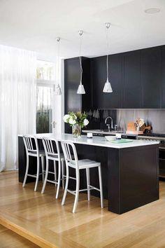Seven stunning non-white kitchens