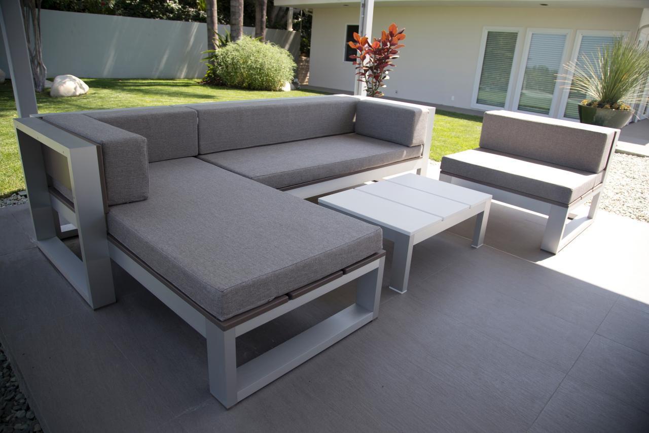 Modern DIY Patio Furniture