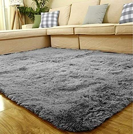 ACTCUT Super Soft Indoor Modern Shag Area Silky Smooth Fur Rugs Fluffy Rugs  Anti-Skid