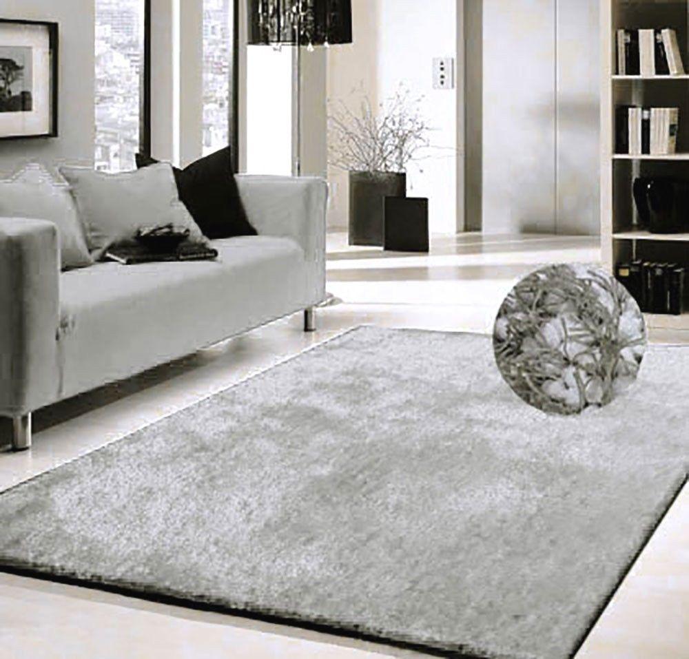 Modern Shag Rugs Gray