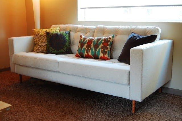 Contemporary sofa slipcovers 1