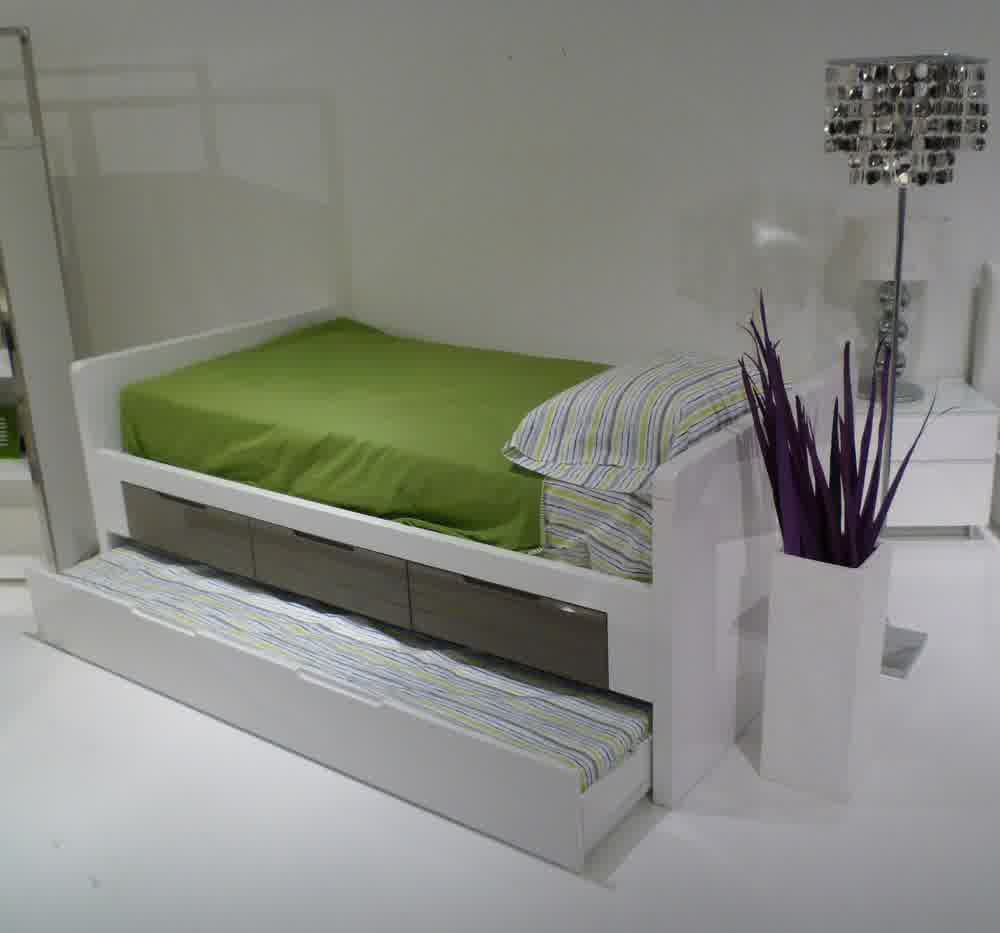 Modern Trundle Bed flower