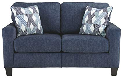 Ashley Furniture Signature Design - Burgos Contemporary Loveseat - RTA Sofa  in a Box - Modular