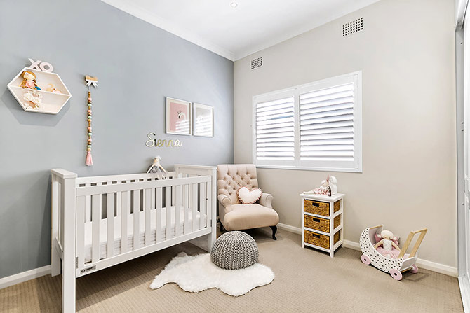 5 Pretty Nursery Decor Ideas