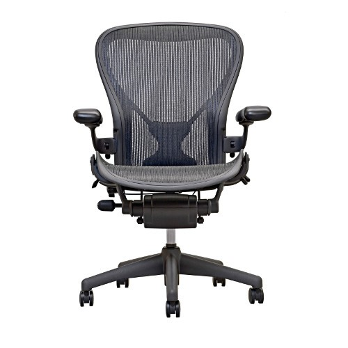 Aeron® Posturefit Office Chair, Graphite from Herman Miller | YLiving