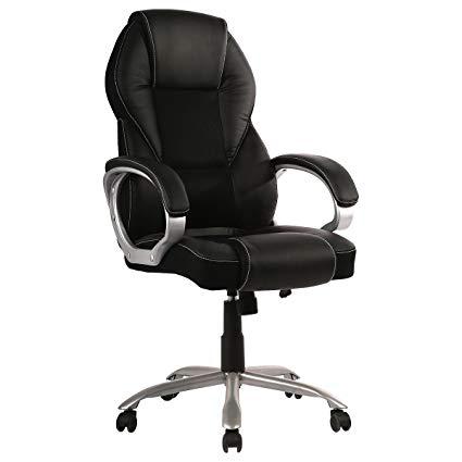BestOffice Home Office Chair Desk Ergonomic Computer Executive Modern Tall  Student Task Adjustable Swivel High Back